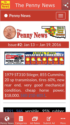 The Penny News Online / Pages / Apps