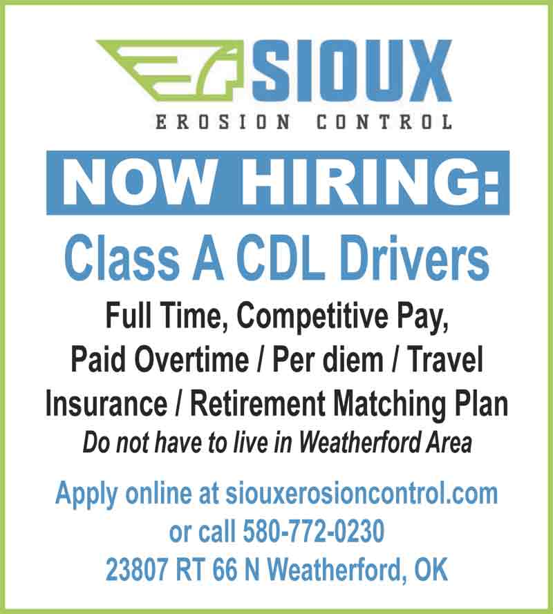 Part time jobs in weatherford ok